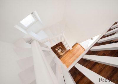 bois colombes escalier plongeant