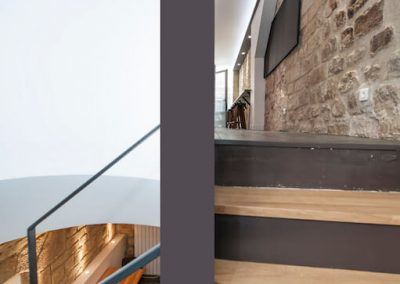 Rue la Bruyere escalier 3