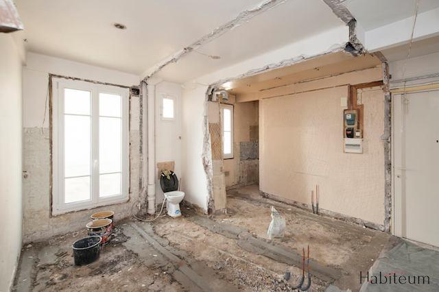 Exemple d'une cuisine avant rénovation