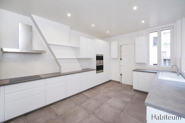 exemple de rénovation d'une cuisine par HABITEUM