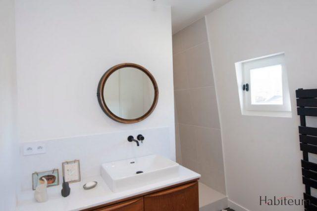 rénovation salle de bains terminée