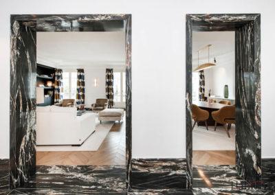 Entree salon 27 rue Marbeuf