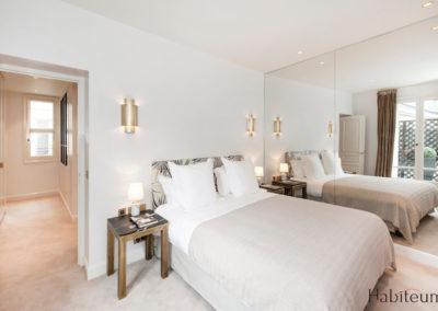 Master bedroom 27 rue Marbeuf