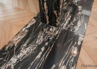 marbre saon 27 rue Marbeuf