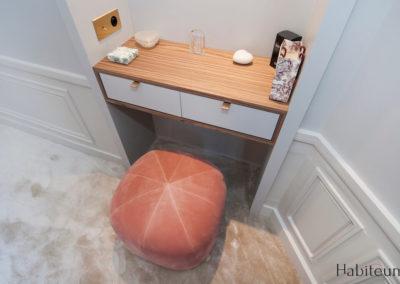 Rue Labiche bureau master bedroom