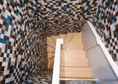 Rue Labiche escalier
