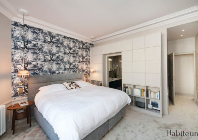 Rue Labiche master bedroom