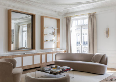 Projet Marbeuf Bis – 125 m2