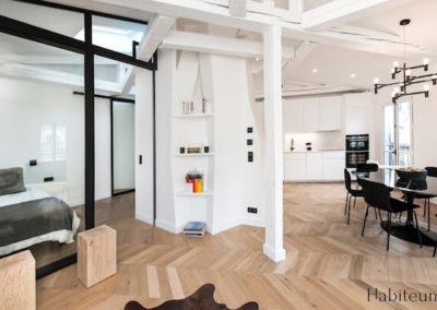 Projet Bourdonnais – 55 m2